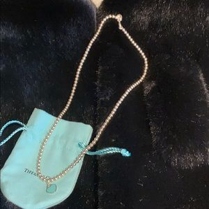 Return to Tiffany beaded necklace